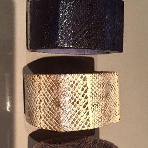 Jewelry - SNAKESKIN BRACELETS